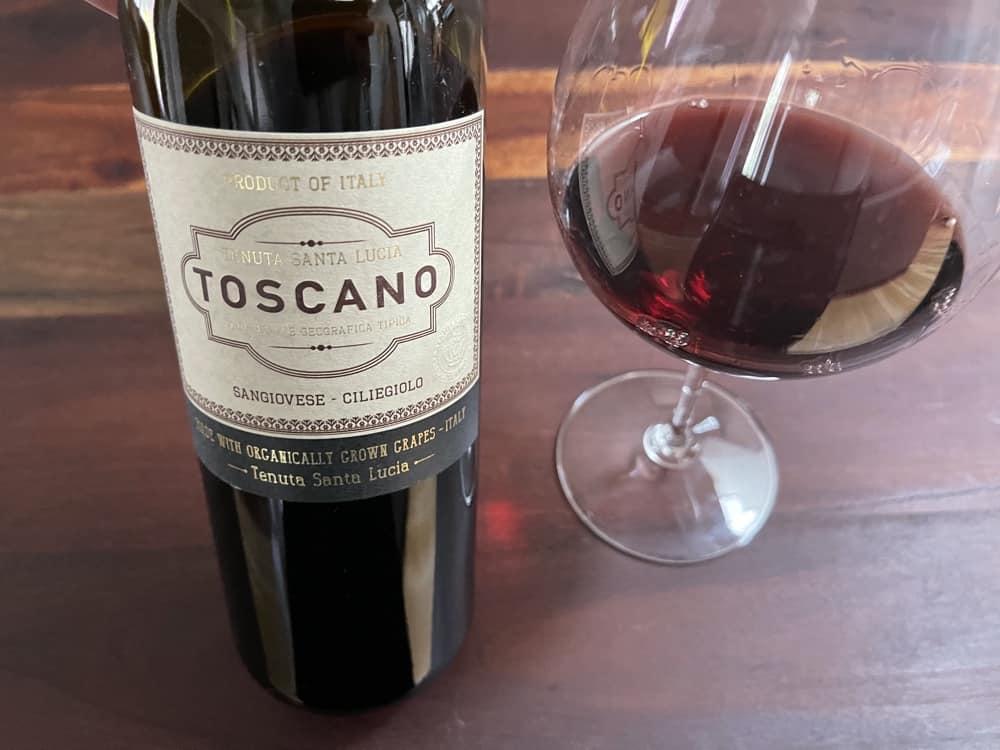 Toscano wine from Thrive Market